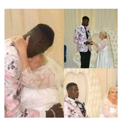 Wedding Photos Of A 24-year-old Man And His White 89-Years-Old Wife That Got Everyone Talking