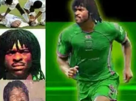 May Their Soul Rest In Peace! 5 Famous Nigerian Footballers Who Died While Playing Football