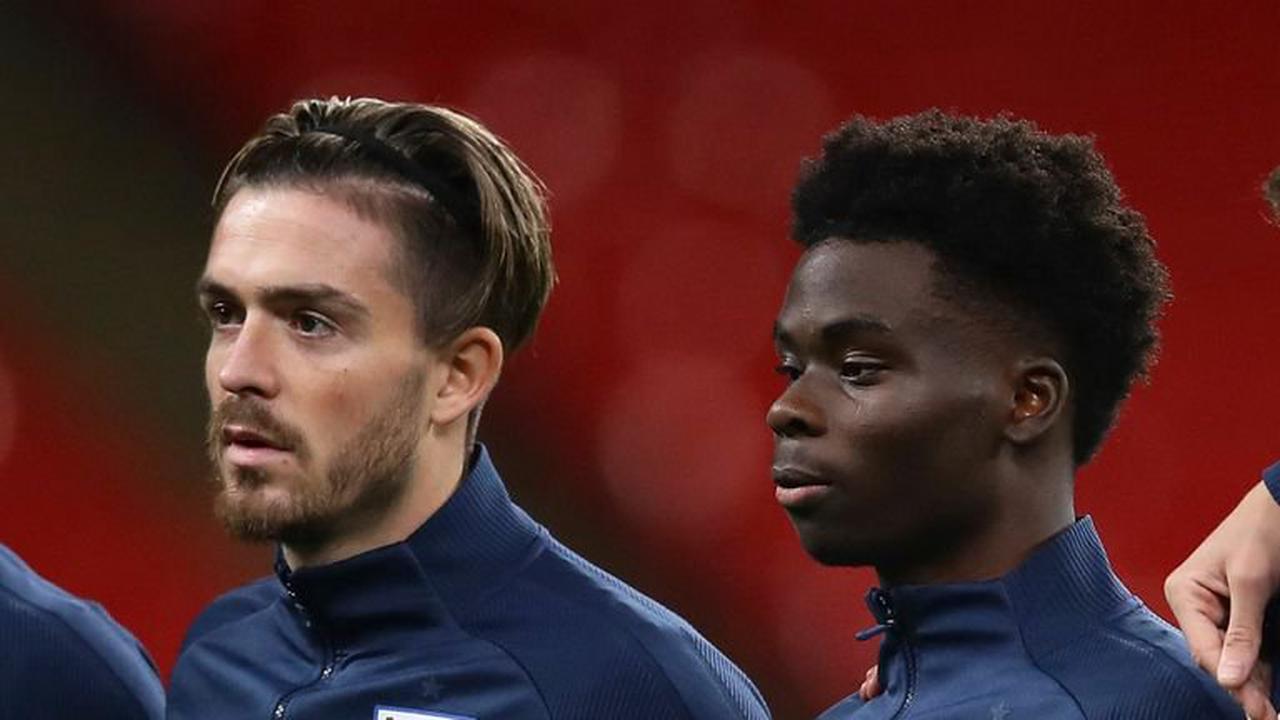 Jack Grealish, Bukayo Saka and Harry Maguire start for England against Czech Republic