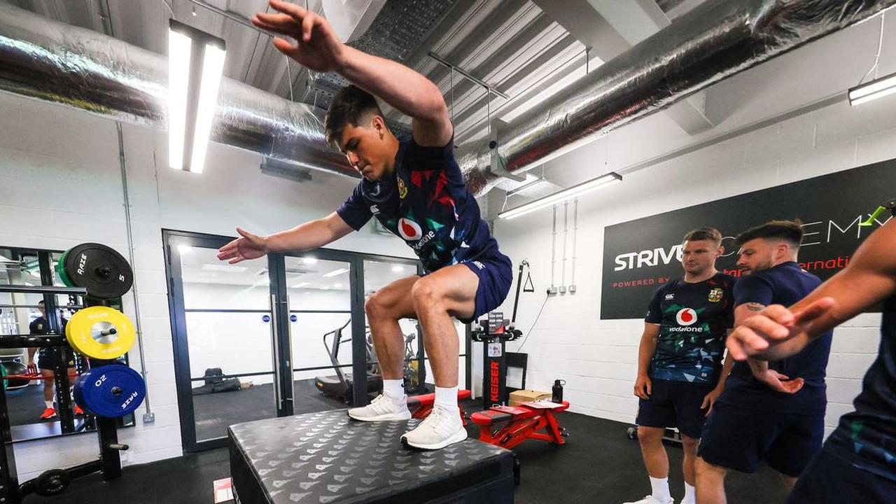 Inside the first day of Lions duty as players face series of physical challenges