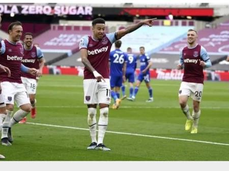 Jesse Lingard Looking to Inspire Westham United to a top Four Finish