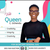 RSU Election 2021: See The First Female To Win The Position Of Secretary General In RSU SUG Election