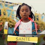 Sante Antwiwaa Nsiah-Apau, daughter of Ghanaian musician Okyeame Kwame has released her new hairline