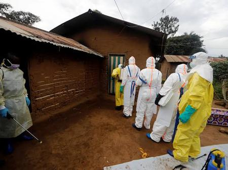 As the world is battling the covid19 pandemic Guinea is experiencing Ebola resurgence