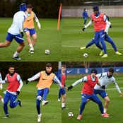 See What Chelsea Players Trained With Ahead of Their Sunday Match Against Manchester United