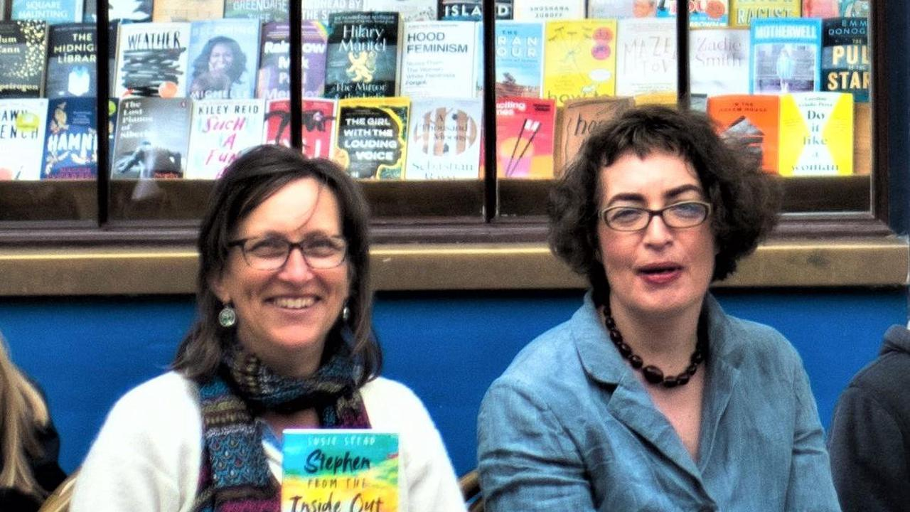 A meeting of minds as Kate Clanchy supports local author at book signing