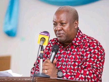 Good Friday: See Why Mahama Message To Ghanaians Today Shouldn't Be Taking On A Light Note.