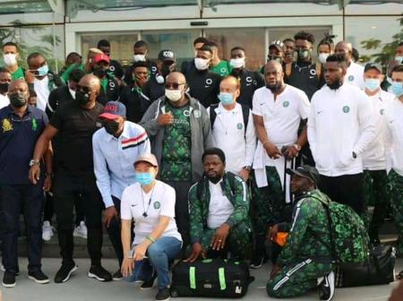 [VIDEO] See How The Super Eagles Are Travelling To Benin Republic From Lagos That Sparked Reactions