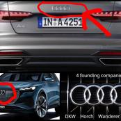 The Four Cycles In Audi Cars Are Not Ordinary Designs, See What It Represents And It Meanings