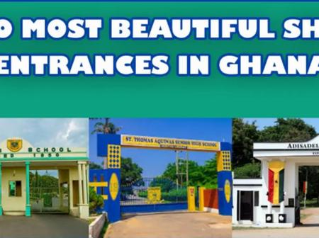 20 SHS Schools With The Best Entrances In Ghana