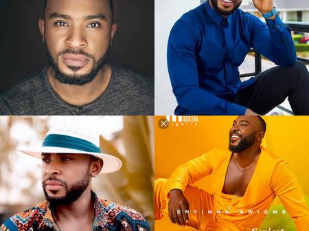 Some pictures of Enyinna Nwigwe that proves he is the most handsome actor in Nollywood industry