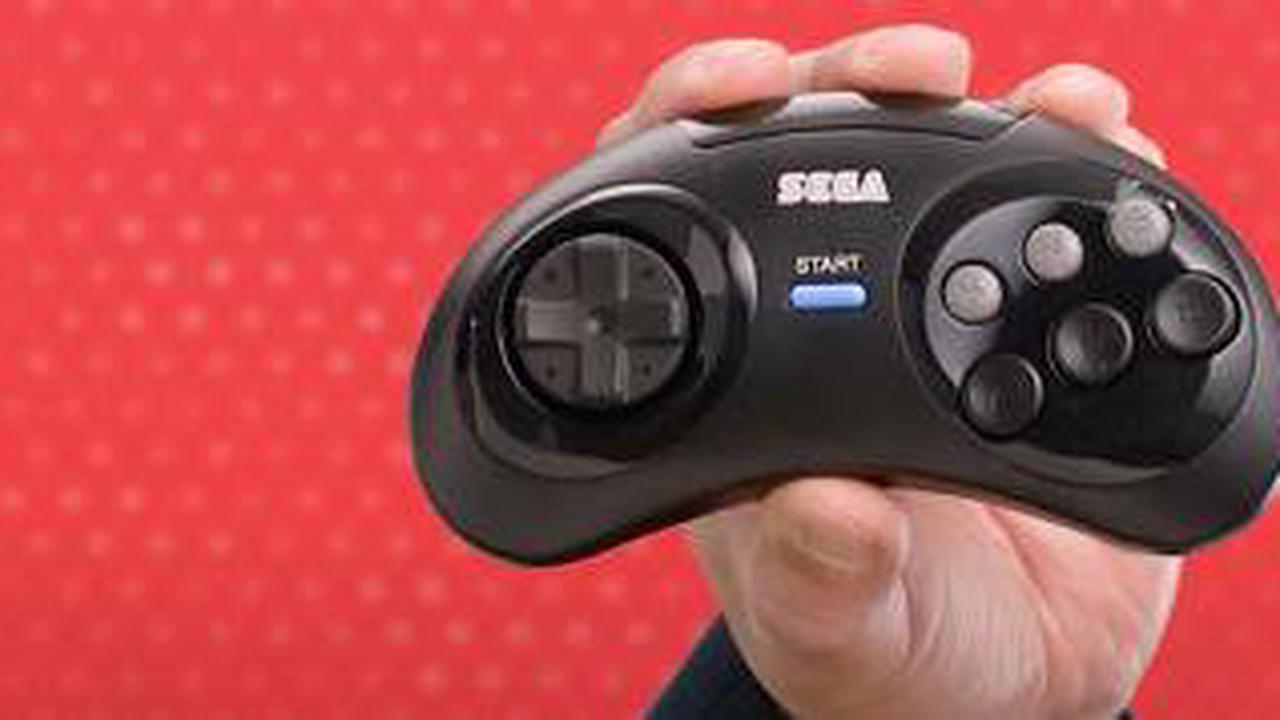 Den Mega-Drive-Controller f�r die Nintendo Switch mit 6 Buttons gibt's nur in Japan