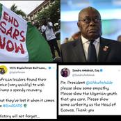 Akufo-Addo's silence on Nigeria angers African youth. Calls for his removal as ECOWAS Chairman.