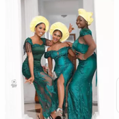 Checkout These Aso-ebi Styles For Beautiful And Classy Ladies