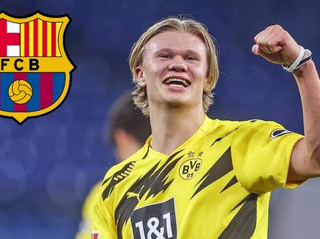 Dortmund tell Barca to do one thing first before starting negotiation for Haaland transfer