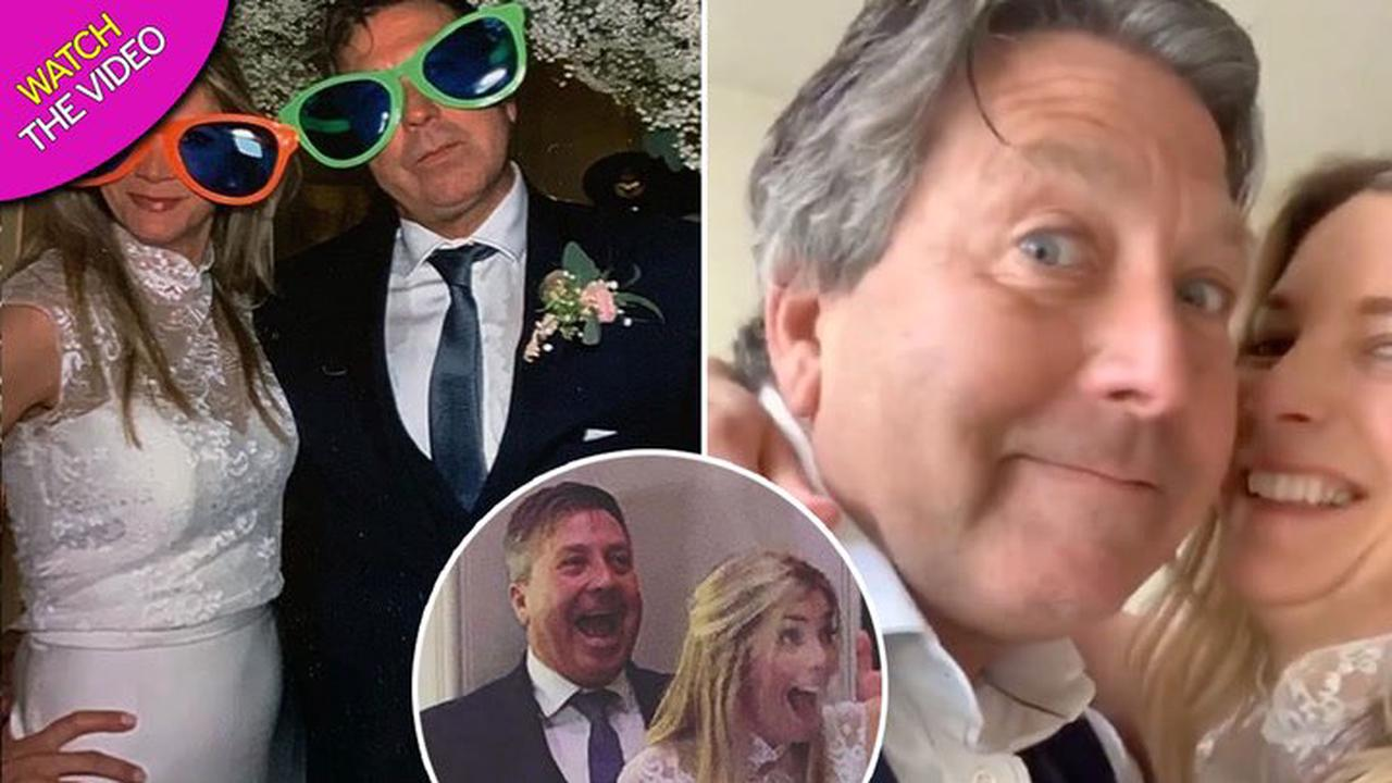 Lisa Faulkner's blissful marriage to best friend John Torode and new life as a mum of five