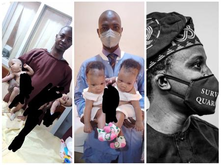 After 2 Conjoined Female Twins Were Separated At UITH Yesterday, See Pres. Buhari's Aide's reaction