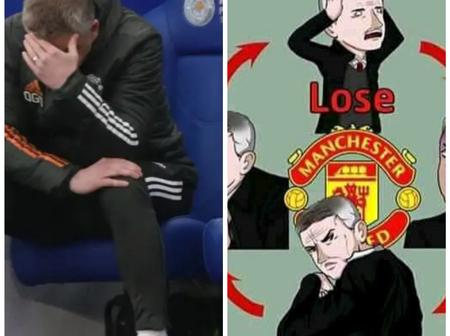 Reactions As Fans Call For Solkjaer Sacking After United Elimination Out FA Cup By Leicester City