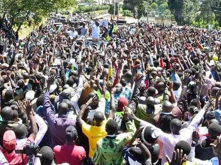 DP Ruto Welcomed Like a King in Nandi County (Photos)