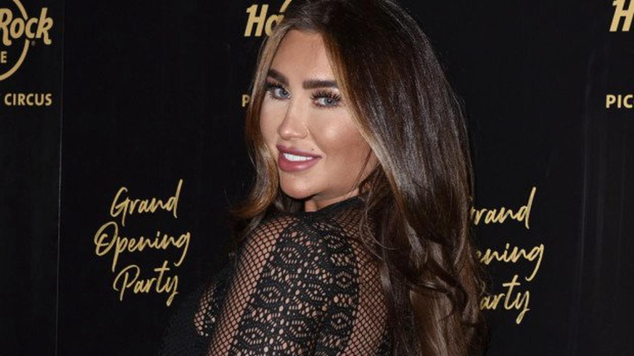 'I thought I was going to die': Lauren Goodger's drug-free labour