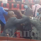 Kenyans Reacts After MCAs Allegedly Turns County Assembly Into Boxing Ring[ video]