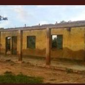 Check Out Pictures Of A Dilapidated School In Buhari's State, Kastina That Caused Reactions Online.