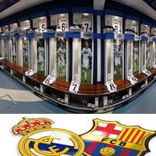 Barcelona Or Real Madrid, Which Club Has The Best Dressing Room?