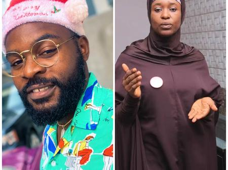 Check The things Aisha Yesufu asked for Christmas after Falz asked what people wanted for Xmas
