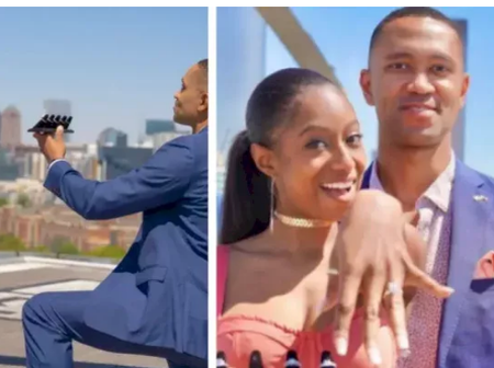 While Others Are Looking For One Ring, Man Proposed To His Girl Friend With Five Diamond Rings