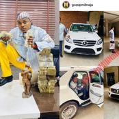 22-Year-Old Igbo Billionaire, Blord Acquires 17 Million Naira Car (Photos)
