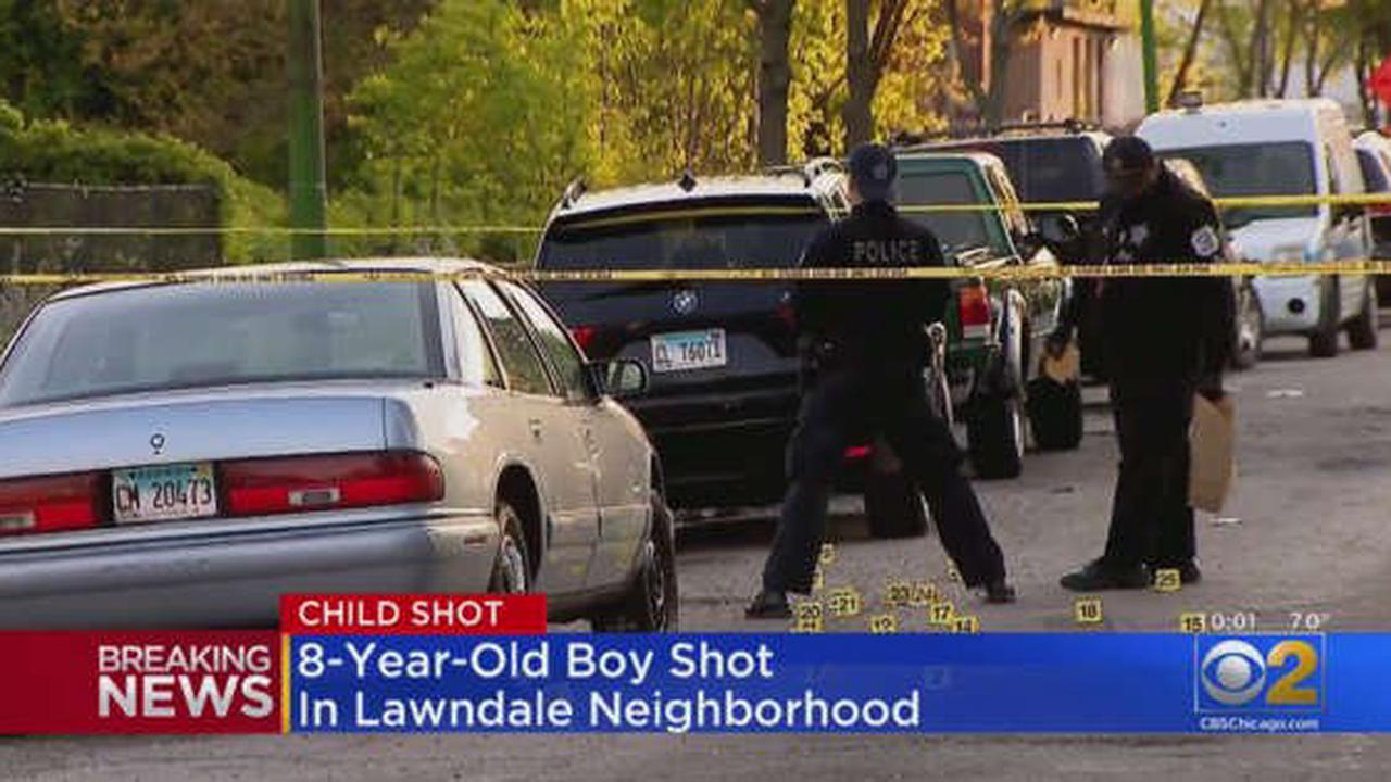 Boy, 8, Shot And Wounded In Lawndale