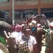 Dennis Itumbi Leaks Video of Karatina Residents Chasing Away Uhuru's PS From a Market