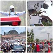 Agboville: grande parade des partisans de Ake M'bo pour revendiquer la victoire face à Bictogo