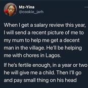 Reactions As Woman Plans To Marry A Man And Pay His