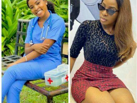 Meet The Beautiful Nurse That's Getting Peoples Attention On Social Media (Photos)
