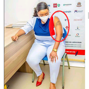 Check Out The Lovely Tattoo Which Was Spotted On Pastor Lucy's Arm After She Shared These Pictures