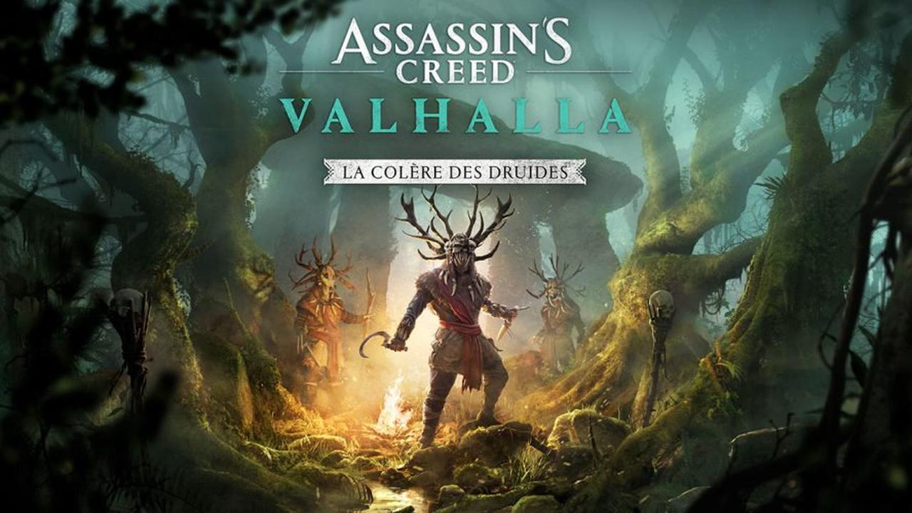 Assassin's Creed Valhalla : Le DLC La Colère des Druides se présente avec un nouveau trailer