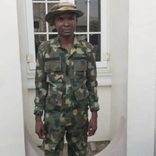 Photos: Bullet Proof Vest, Soldier Uniform, Soldier Boots and More That Was Recovered From This Man