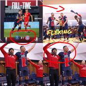 After Eliminating Bayern Out Of UCL, See How PSG Players Celebrated That Showed Their Enthusiasm