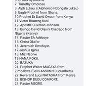 Man Claims these 53 Prophets Worship the Same 'god'. Check the names as Listed.