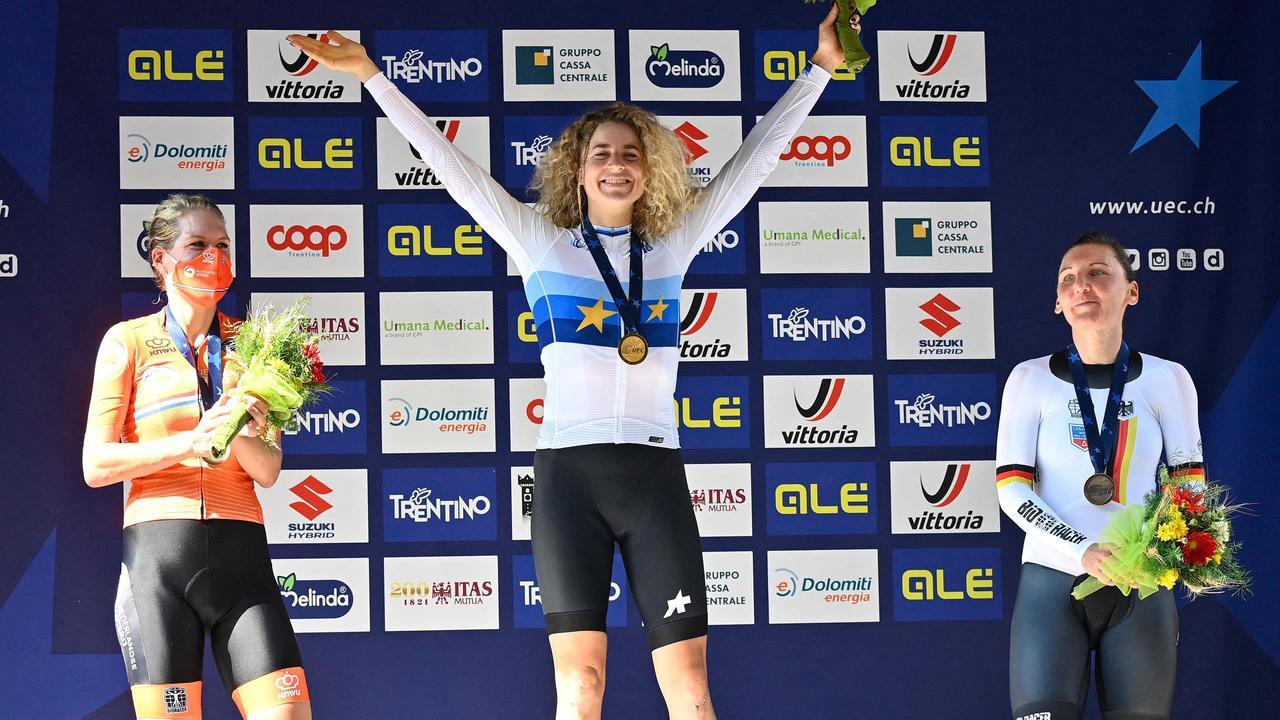Championnat d'Europe de Cyclisme : Marlen Reusser sacrée sur le contre-la-montre