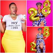 See How Nigerians Reacted After A Young Lady Celebrated 28 Years Of Living With HIV (Photos)