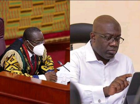 After Bagbin Declared NPP Caucus Majority In 8th Parliament, See What Kojo Oppong Nkrumah Wrote