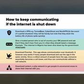 End SARS: If the internet is shut down, this is how you can communicate online.