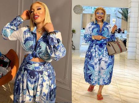 """It Is Okay To Struggle Sometimes"" – Tonto Dikeh Tells Fans"