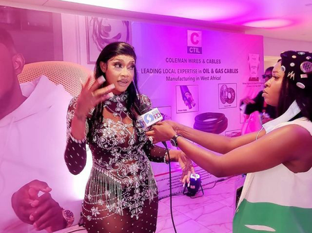 Checkout The Controversial Outfit That Angela Okorie Wore To Ay's Easter Event (Photos)