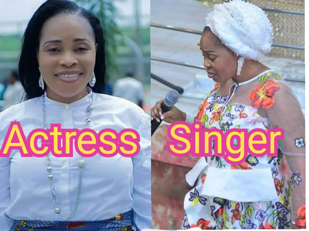 Meet The Popular Yoruba Actress Who Is Now A Gospel Singer, Checkout Photos Of Her Children