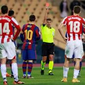 Lionel Messi faces Two Match Ban.