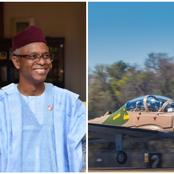 Checkout What Nasir El Rufai Said As Nigerian Air Force Gets New Aircraft