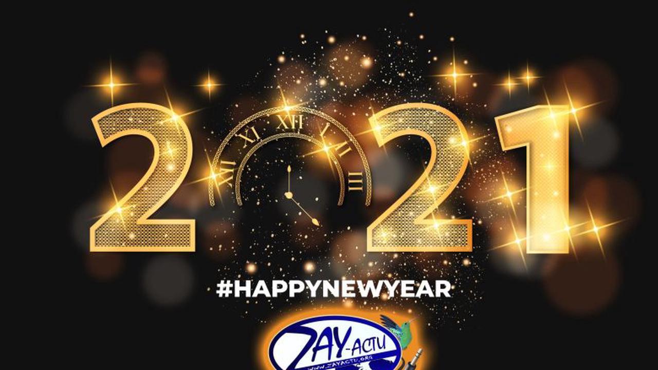 Toute l'équipe de ZayActu vous souhaite une bonne et heureuse année 2021